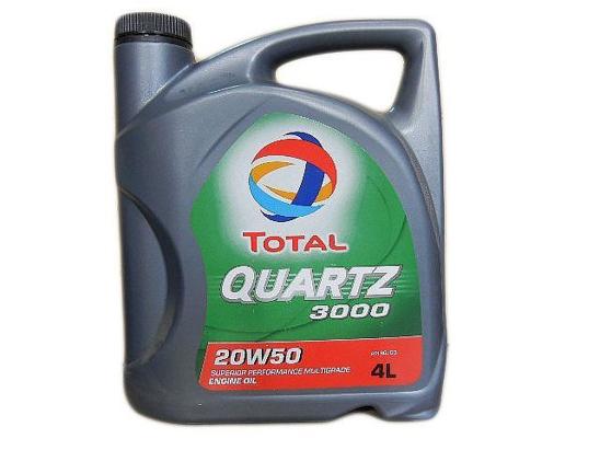 Total Motor Oil QUARTZ 3000 4 Litre