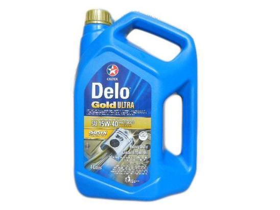 Caltex Motor Oil Delo Gold 4 Litre