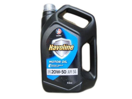 Caltex Motor Oil 4 Litre