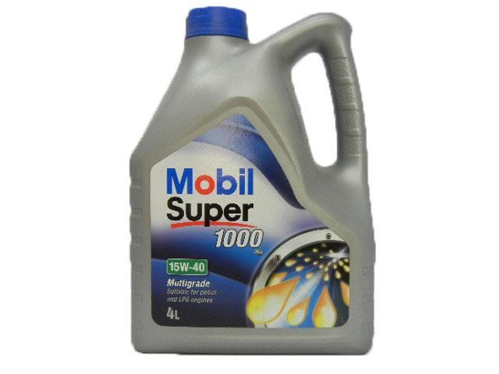Mobile Motor Oil 1000 4 Litre