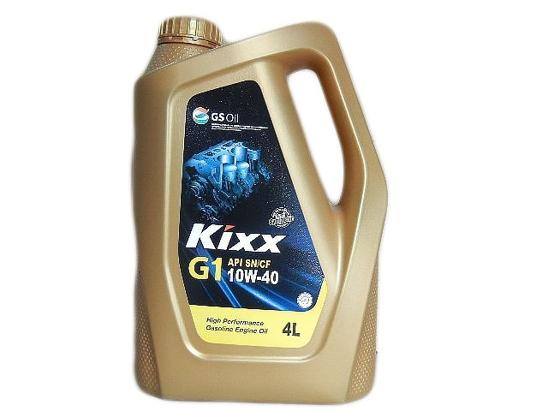 """Kixx Motor Oil """"G1""""4 Litre"""
