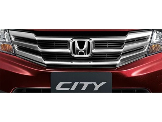 Honda City Grill Molding Chrome GM2