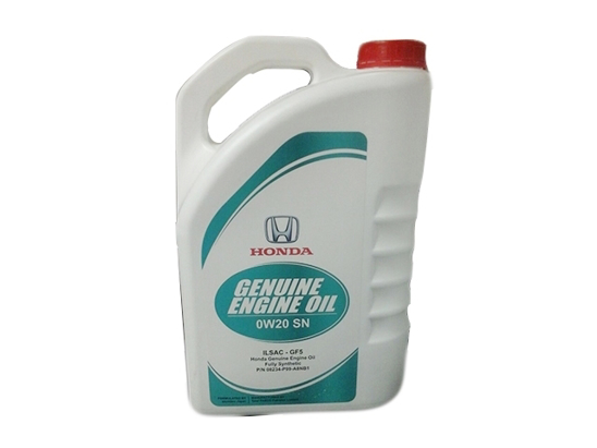 Honda Genuine Engine Oil 3.7-Litre Fully Synthetic 0W-20 SN