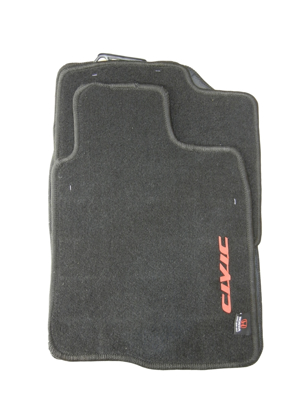 Carpet Floor  Mat Black Color FC6