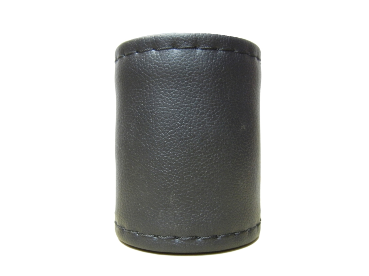 Leather Steering Cover Black Color