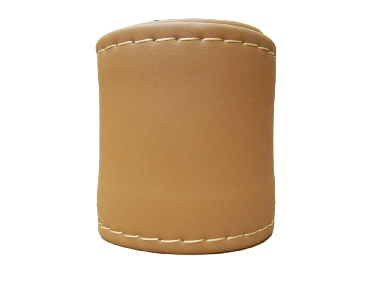 Leather Steering Cover Camel Color