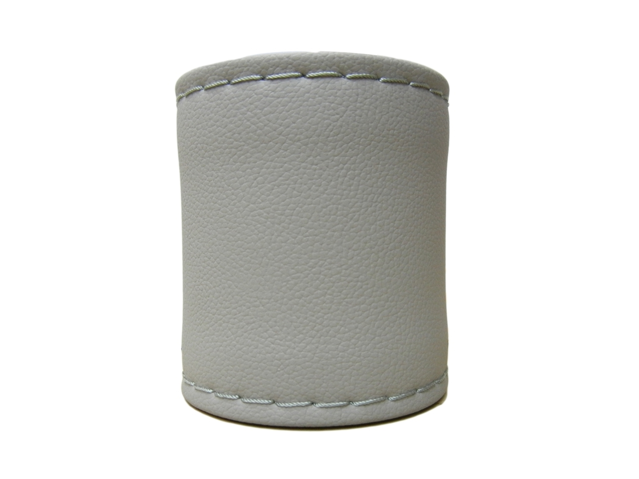 Leather Steering Cover Light Grey Color11