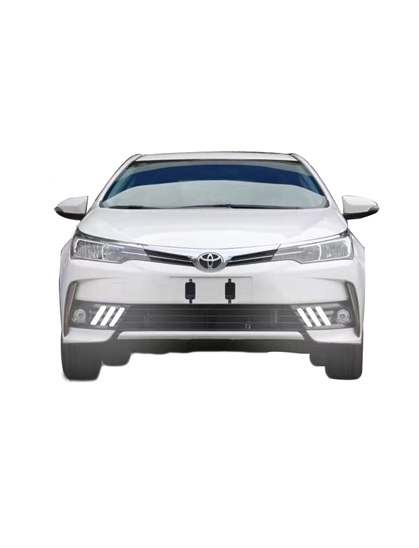 Toyota Corolla 2017 Fog Lamp Cover With LED DRL